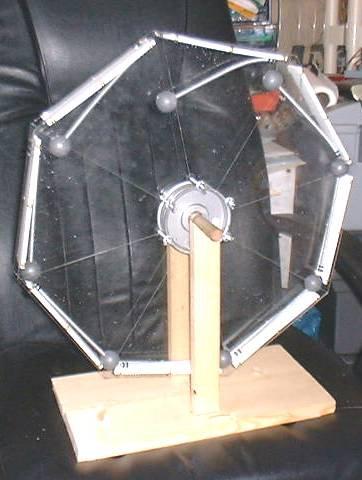 Одна из действующих моделей колеса Орфириуса