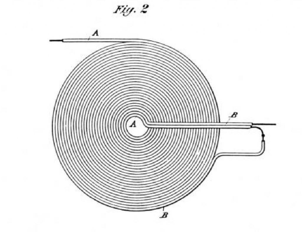 Спиральная бифилярная катушка.