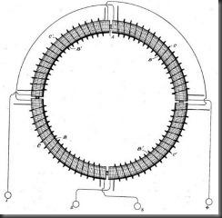 Схематическое изображение преобразователя и его электрические соединения.