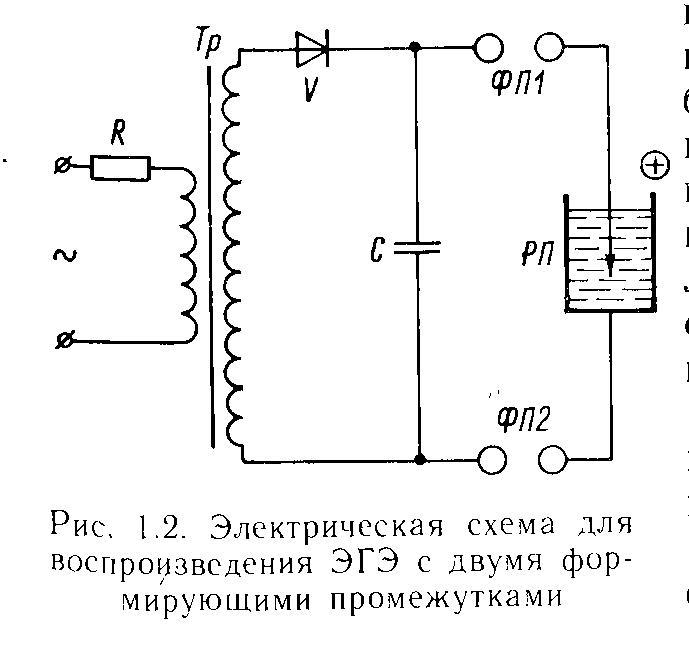 Модифицированная принципиальная схема генератора ЭГЭ Юткина