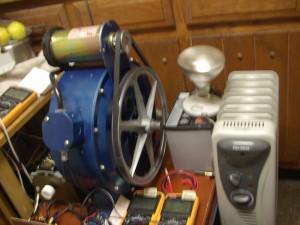 Испытательный стенд двигатель - генератор