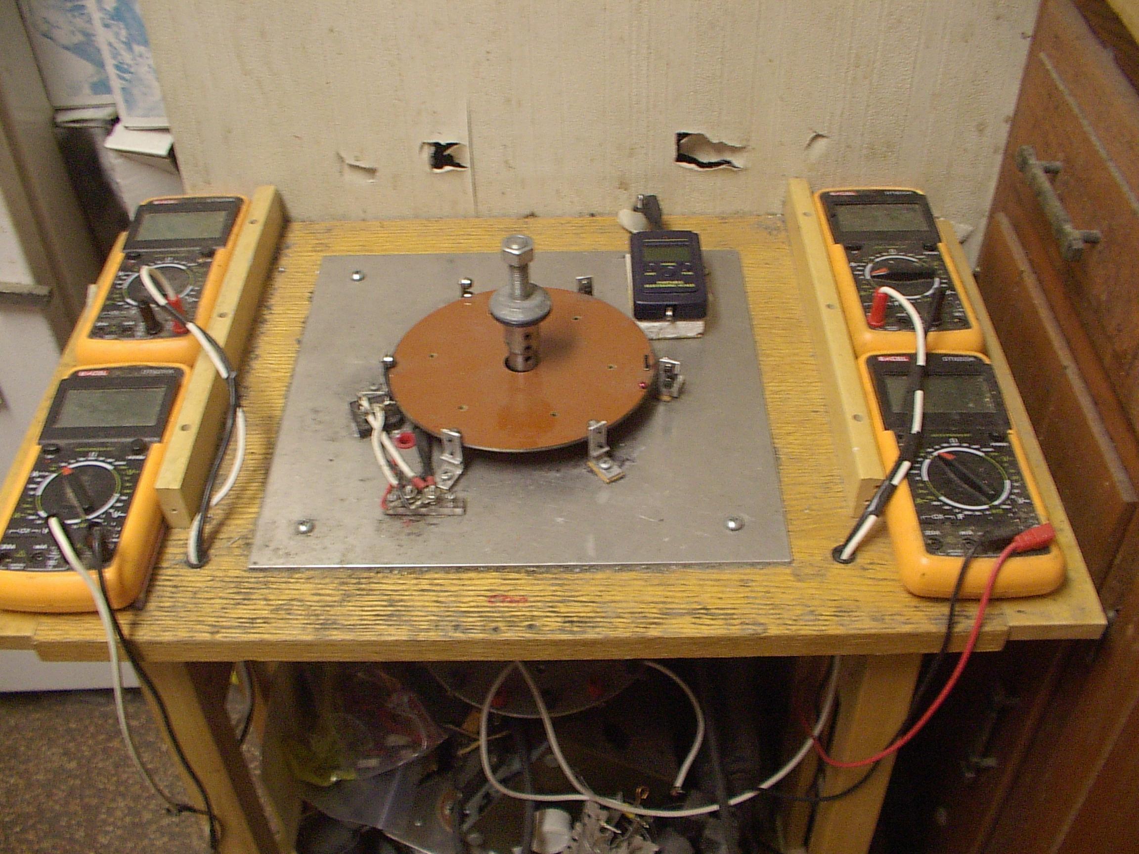 Экспериментальные исследования энергетической эффективности получения электрической энергии из магнитного поля постоянных магнит
