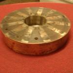 Магнитный диск маленького генератора