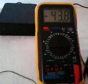 Зарядка конденсатора антенной