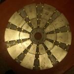Фото №3 - магнитный диск до заливки.