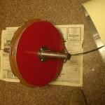 Фото №5 - первый магнитный диск с бондажем, закрепленный на валу.