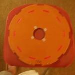 Фото №8 - обмоточный диск после заливки, с красными переходами межкат
