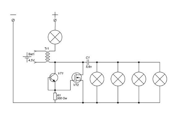 Схема БТГ Виктора DIN